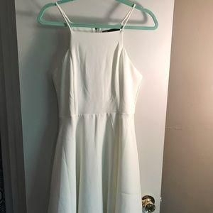 NWOT white dress